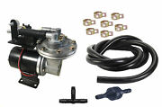 Electric Vacuum Pump, Brake Booster Deluxe-12 V Plug And Play W/ Install Kit