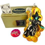 Kurt Adler Polonaise Wizard Of Oz Wicked Witch Of The West 2000 Ornament Ap 1190