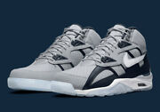 Nike Air Trainer Sc High Georgetown Size 15 Wolf Grey White