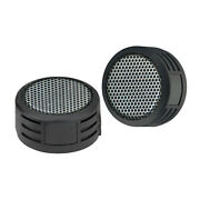 Pair Surface Mount Mini Add-on Super Tweeters For Car Home Audio Speaker Systems