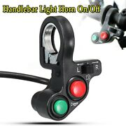 3in1 Motorcycle 7/8andrdquo Light/horn Andphi22mm Signal On-off Switch Button Parts 7/8