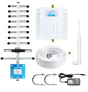 Atandt Verizon Tmobile Cell Phone Signal Booster 3g 4g Lte 1700mhz Band 4 Repeater