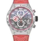Tag Heuer Carrera Car201m.ft6156 Manchester United Automatic Menand039s Y105874