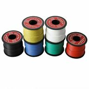 50m Soft Silicone Insulator Ul3132 22 Awg Electrical Wire Tinned Copper Stranded