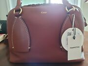 Nwt Medium Daria Bag In Sepia Brown - Comes With Tag Card And Dust Bag