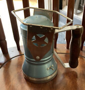 Star Headlight And Lantern Company Battery Operated Handheld Railroad Lamp/works