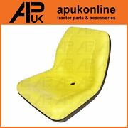 Universal Yellow Seat Pan With Drain Dumper Forklift Digger Tractor Boat Mule