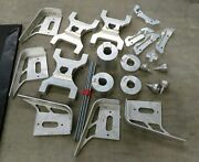 New Mytle West Motorcycle Parts Chain Guard Caliper Brackets Lot Auminum Usa