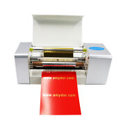 Auto Digital Sheet Gold Foil Printer Hot Stamping Machine For Paper