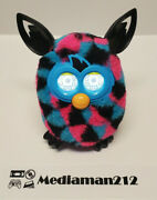 Furby Boom 2012 Hasbro Blue, Pink And Black Talking Interactive Toy Works