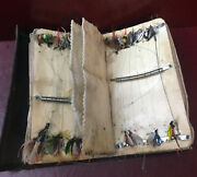 Fly Fishing Lot 50+ Handmade Flies Vintage Lure And Holster Case