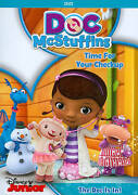 Doc Mcstuffins Time For Your Check Up Dvd, 2013 Amazing Dvd In Perfect Condit
