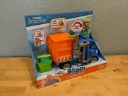 Blippi Recycling Truck And Figure - Talking Sounds - New Toy Sale