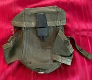 U.s. Army Magazine Pouch For Small Arms Rifle, Holds 3 Magazines
