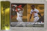 2018 Topps Now Rcb-1 Shohei Ohtani And Ronald Acuna Jr Rookie Ssp Raw Bgs 9.5