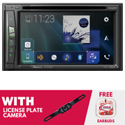 Rfrb Pioneer Avic-w6500nex In Dash Navigation Receiver With License Plate Camera