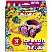 Crayola Melt And039n Mold Bling Rings Expansion Pack