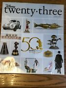 Disney D 23 Exclusive Magazine 50 Years Archives Preserving The Magic 2020 New