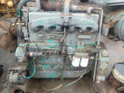 Allis Chalmers 685t Turbo Diesel Engine Runs Exc. Low Hours 11000 Tractor