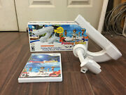 Fishing Resort Nintendo Wii Combo Pack Game + Fishing Rod Controller And Box