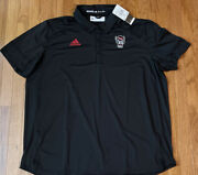 Menand039s Nc State Wolfpack Adidas Coaches Sideline Tech Polo Ge1764 3xl Nwt 75