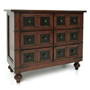 Stylecraft Home Collection Dca8900ds Classic Apothecary - 42 Inch Three-drawer