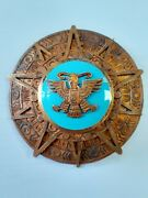 Mexico Order Early Grand Cross Star Breast Plate Orden Aztec Eagle Mexic Mexique