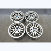 1994-1999 Bmw E36 3-series Factory 15x7 Style 32 Radial Alloy Wheels Set Of 4