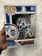 Funko Gabriel Fluffy Iglesias Day Of The Dead Signed Excl Le 4000 + Protector