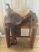 Used 15andrdquo Western Ranch Trail Saddle