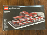 Lego Architecture Robie House 21010 W/ Box And Manual 2011 Discontinued Retired