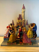 Disney Traditions Jim Shore Princess Love Theme Display With Figurines Complete