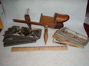 Antique Stereoviewer And Forty-eight 48 Cards Lot 1