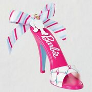 2021 Barbie Convention Hallmark Shoe-sational Ornament Limited To 800 Sold Out