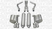 Corsa 2.5 Dual Rear Cat-back Exhaust 2011-2014 For Dodge Charger R/t 5.7l V8