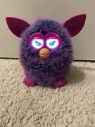 Furby Boom Interactive Toy Pet Hasbro 2012 Purple Pink Tested Robotic Friend