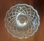 Waterford Crystal 8 Drop Bobeche Chandelier / Candelabra Replacement Part