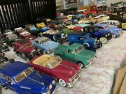Vintage Lot National Motor Museum Mint Cars And Planes W/ Coa