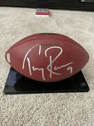 Tony Romo Game Used Football Dallas Cowboys 2006 Buccaneers Signed Autographed