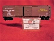 Mtl 78030 Union Pacific 50and039 Double +end Door Box Car 161100 And039newand039 N-scale