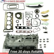 Engine Cylinder Head And Gasket Timing Chain Repair Kit For Vw Passat Audi A4 2.0