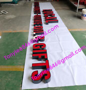 15in Channel Letter Shop Sign, Frontlit Sign,include Power Supply,custom Made