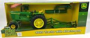 Ertl Big Farm John Deere 4020 Tractor With Attachments Lights And Sounds 1/16th