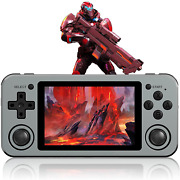 Abenow Rg351m Handheld Game Console, Retro Game Console, Open Source System, 3.5
