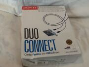 Adaptec Aua-3020 / Efigs Duo Connect Combo Firewire And Usb 2.0 Card