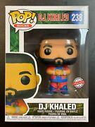 In Hand Funko Pop Dj Khaled Father Of Asahd 238 Special Edition Exclusive