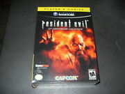 Resident Evil 10th Anniversary Collection Gamecube Gamestop Exclusive Game Cube