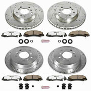 Power Stop Brake Kit For Chevy Impala 2006-2010 | Front And Rear | Z26 Street