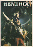 Jimi Hendrix Postcard Photo Stars And Stripes Original Issue Collectable 4x6