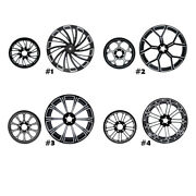 18x5.5and039and039 Rear Wheel Rim Hub Belt Pulley Sprocket Fit For Harley Fltr/flht 08-21